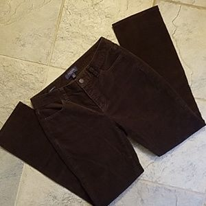 Talbots Heritage Brown Corduroy Pants